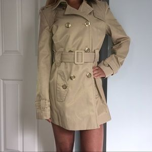 CK Double Breasted Trench